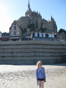 Natalie Glasson Channel OmNa Wisdom of the Light Mont St-Michel France