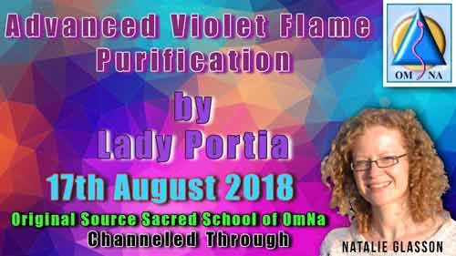Advanced Violet Flame Purification by Lady Portia