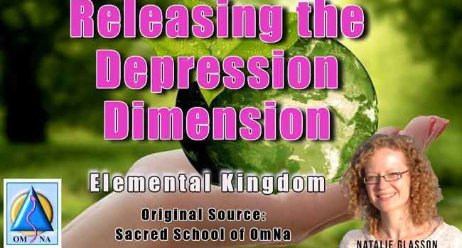 Releasing the Depression Dimension by the Elemental Kingdom
