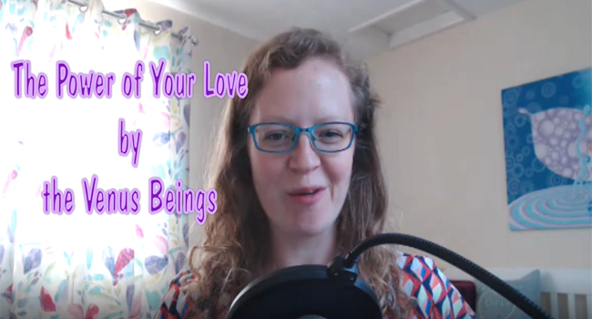 The Power of Your Love by the Venus Beings